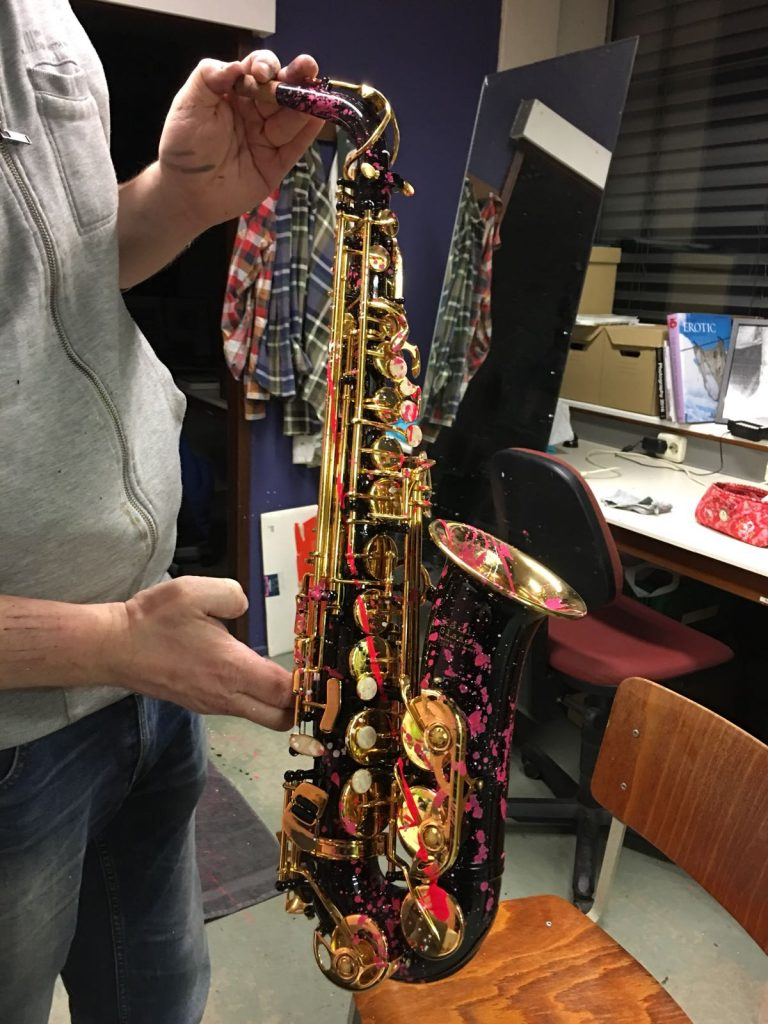 De sax van Joost... Fotocredits: Joséphine Kurvers | I Shoot Musicians