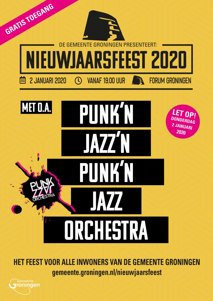 PUNK'n JAZZ orchestra live in FORUM Groningen